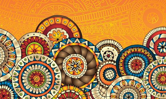 Coloriage mandala complexes sur - Hugo l escargot mandala ...