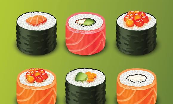 Sushis du japon