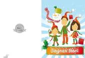 Carte de Noël enfants