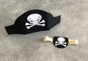 Chapeau de pirate pour Halloween