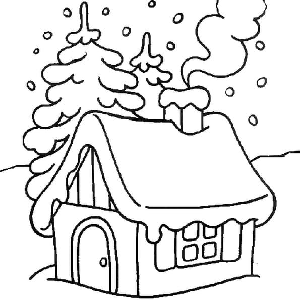 Coloriage Image Noël En Ligne Gratuit à Imprimer