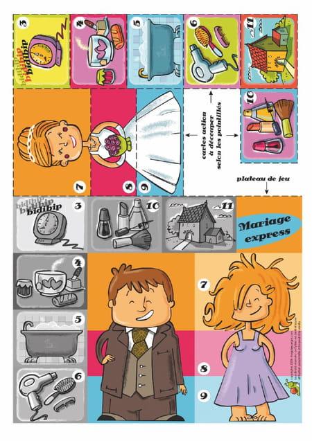 Le jeu du mariage - Jeux hugo l escargot 2 ...