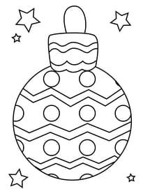 Dessin Boule De Noel.Coloriage Boules De Noël Sur Hugolescargot Com