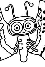 Coloriage Nara Bug Waybuloo en Ligne Gratuit à imprimer