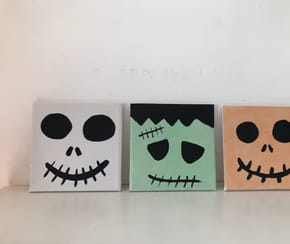 Tableaux monstres d'Halloween [VIDEO]
