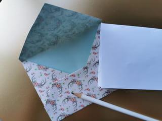 Votre enveloppe est prête