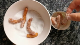 Étape 6: sucrer les churros