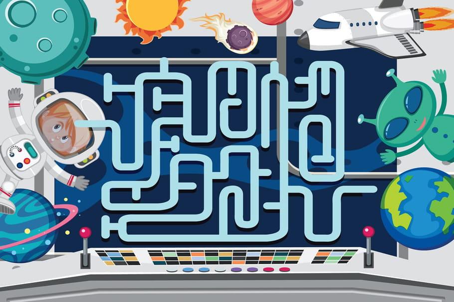 Jeux de labyrinthe à imprimer