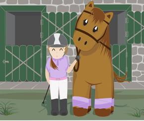 C'était un cheval
