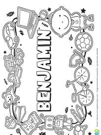Benjamin prénom de garçon version3