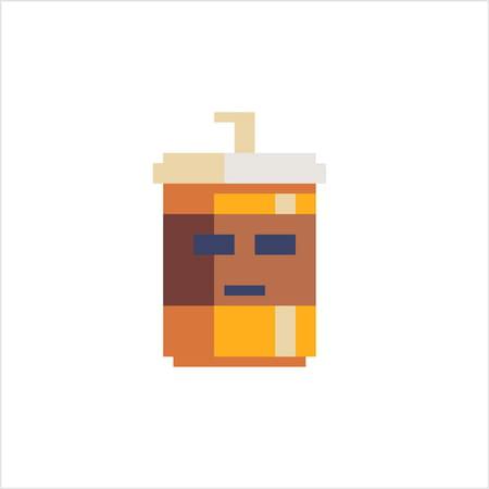 Mug De Café En Pixel Art