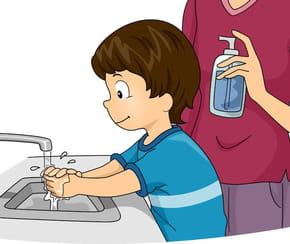 Je me lave les mains
