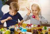 Œufs de Pâques: à peindre, à colorier, à fabriquer