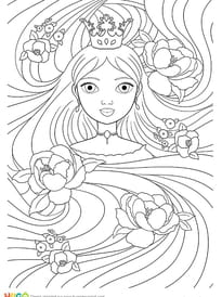 Coloriage Princesse Disney Sur Hugolescargot Com