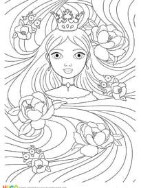 Raiponce, princesse de légende
