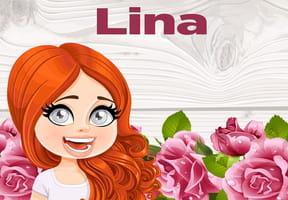 Lina : prénom de fille lettre L