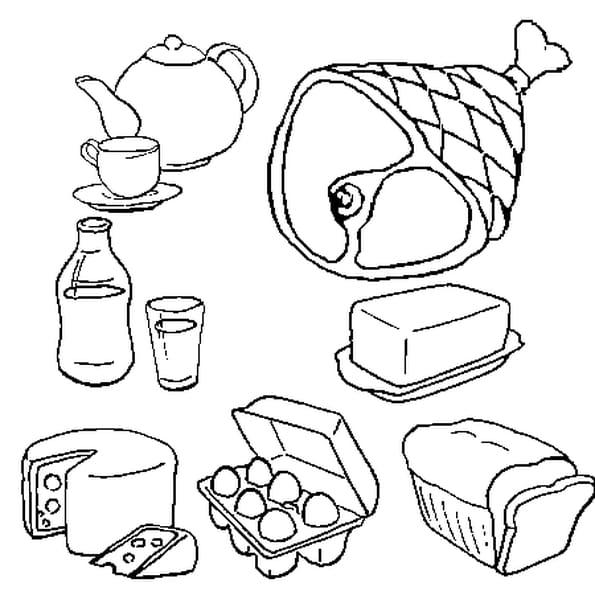 pin nourriture coloriage en ligne gratuit a imprimer sur. Black Bedroom Furniture Sets. Home Design Ideas
