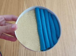 Étape 5: ajustez les boudins de feutrine dans la boîte