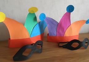 Chapeau et masque d'Arlequin [VIDEO]