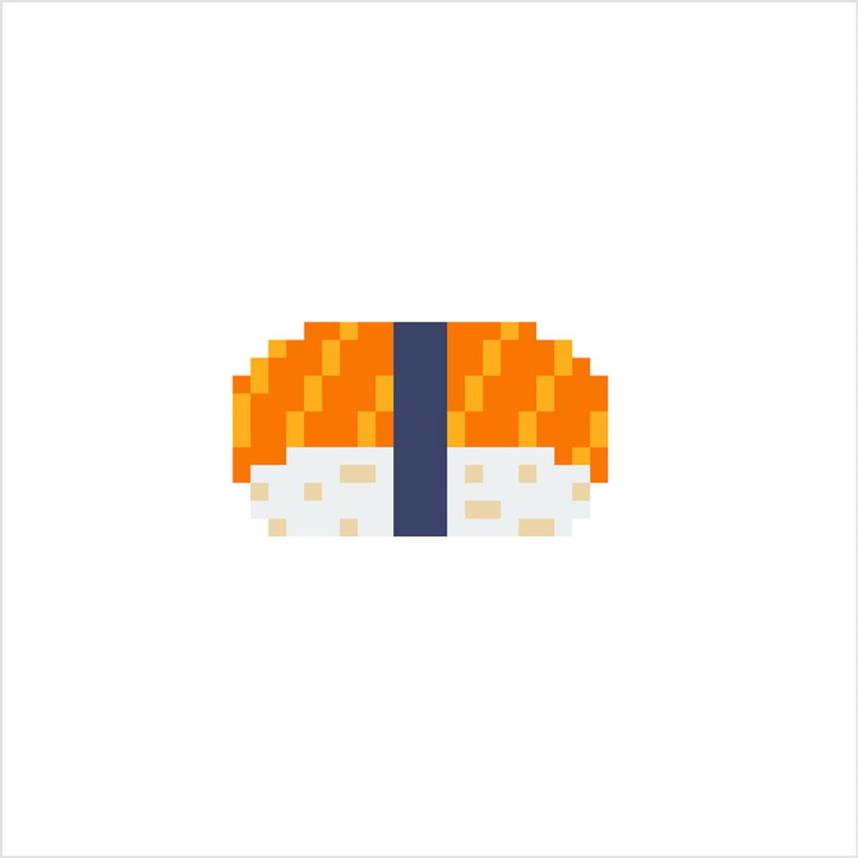 Nigirizushi En Pixel Art