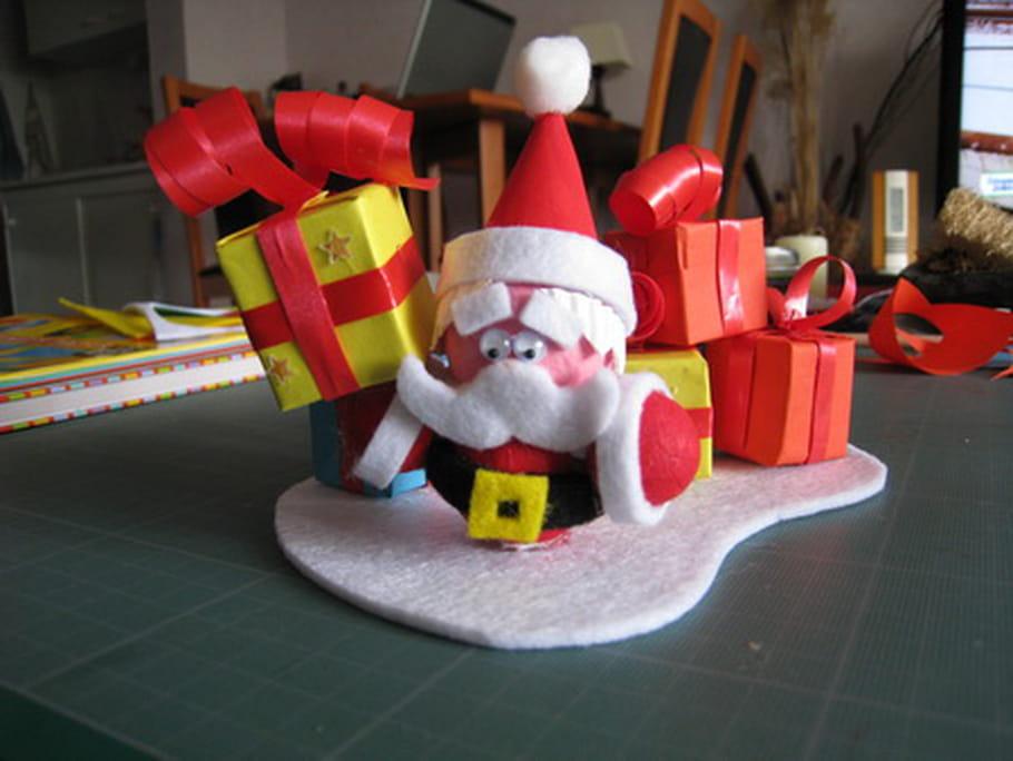 Papa Noel en cotillon