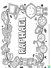 Raphaël prénom de garçon version3