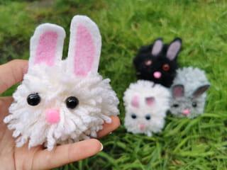 Votre lapin pompon est terminé!