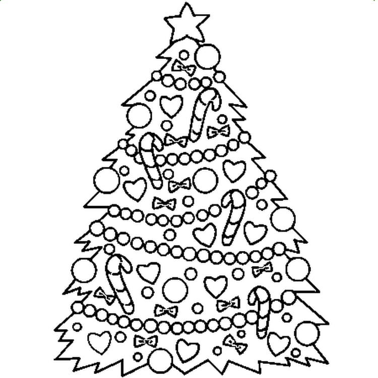 Sapin noel coloriage quotesdelivered - Coloriage de noel a imprimer gratuitement ...