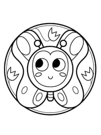 Coloriage Mandala Printemps Maternelle.Coloriage Printemps Sur Hugolescargot Com