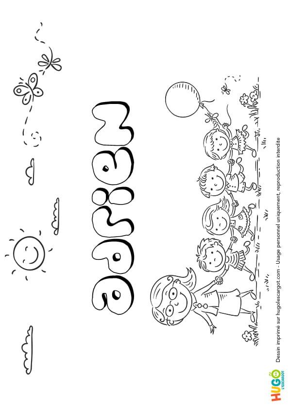 Adrien prénom de garçon version 2