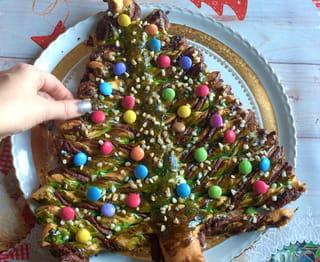Gâteau sapin en pâte feuilletée - Étape 10