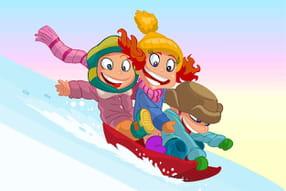 Sports d'hiver - La luge