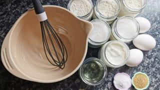 Ingrédients nécessaires pour un gâteau au yaourt