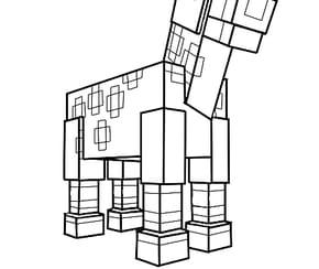 Le cheval de Minecraft