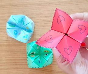 Cocotte en papier: comment la fabriquer?