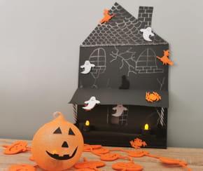 Maison hantée Halloween DIY