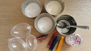 Matériel nécessaire pour fabriquer un œuf de dinosaure