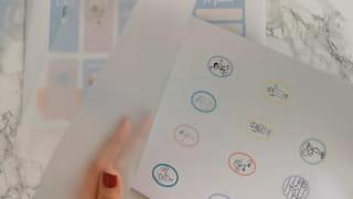 Étape 1: préparer le planning et les magnets