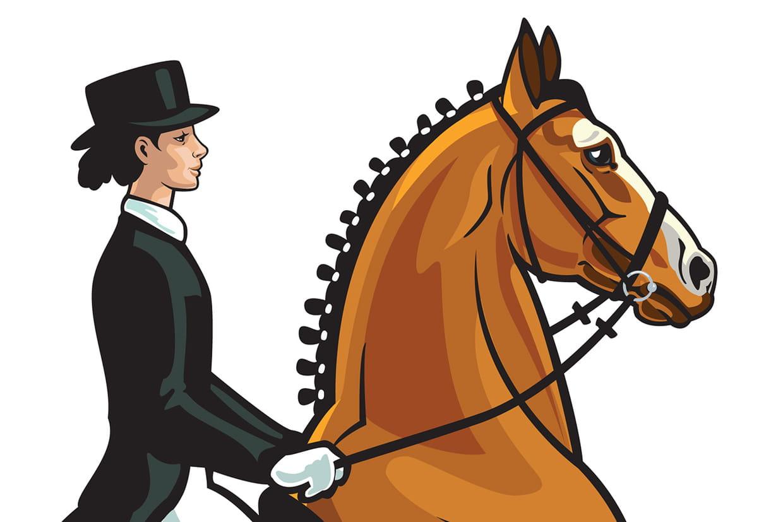 Coloriage cavaliers et chevaux sur - Coloriage chevaux ...