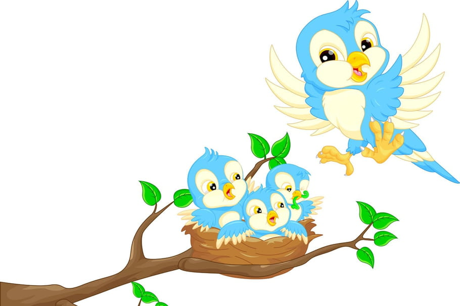Comptine Ils étaient cinq dans le nid