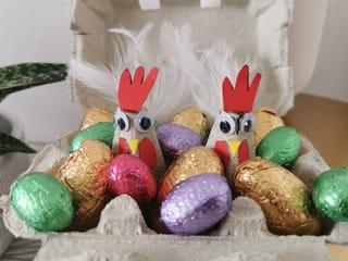 Votre boîte à œufs de Pâques est terminée