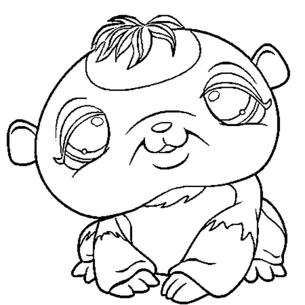 Coloriage little pet shop en ligne gratuit imprimer - Coloriage pet shop ...