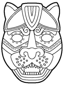 Coloriage Masques Sur Hugolescargot Com