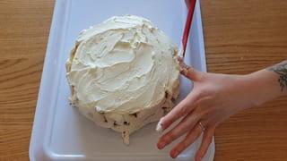 Étape 4: étalez généreusement la crème