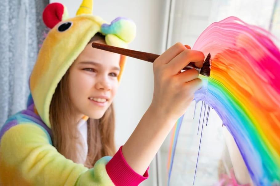 Licornes: bricolages et journée de la licorne