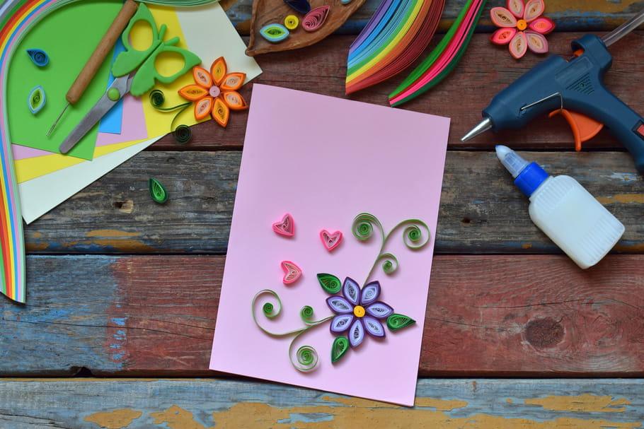 Loisirs créatifs: quilling et perles à repasser