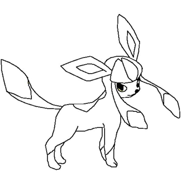Coloriage Pokémon Givrali en Ligne Gratuit à imprimer