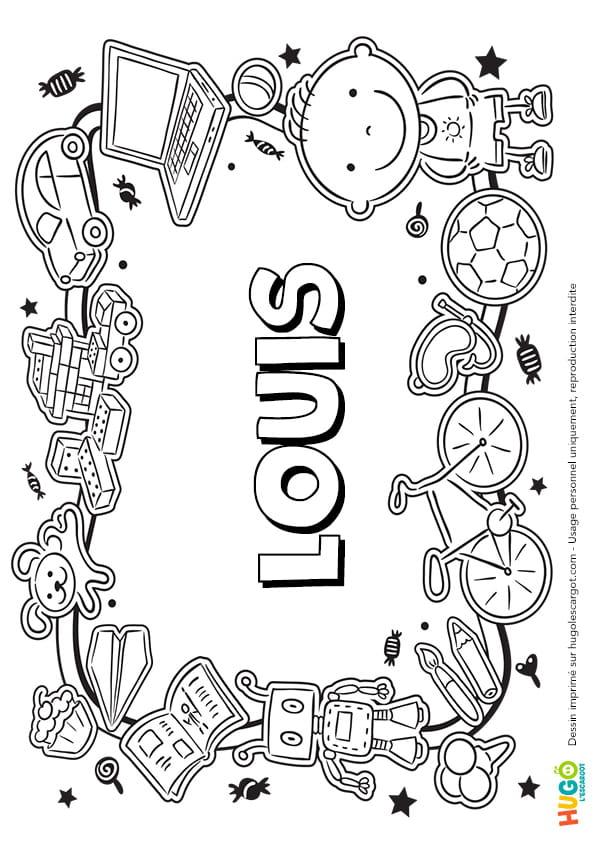 Louis prénom de garçon version3