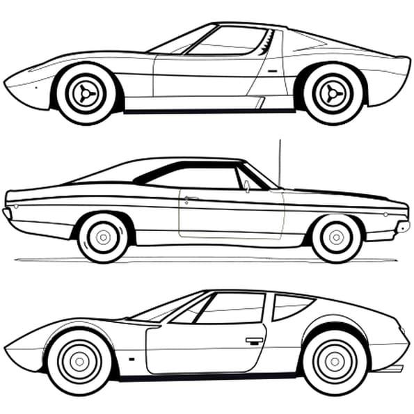 Voitures coloriage voitures en ligne gratuit a imprimer - Dessins voiture ...