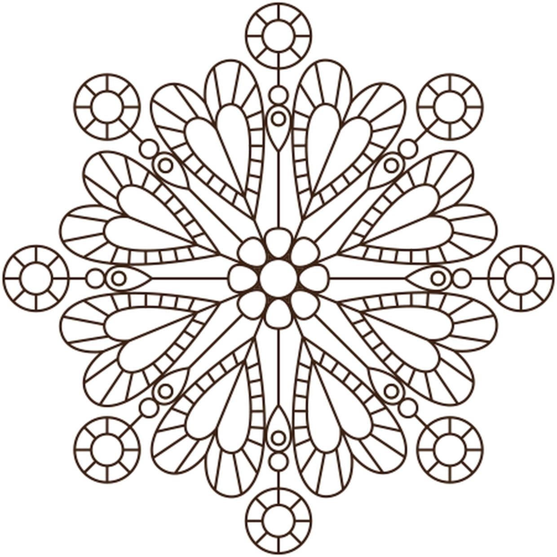 Coloriage Mandala De Coeur En Ligne Gratuit A Imprimer